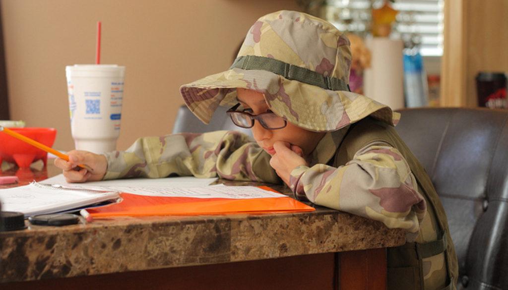 adhd kids homework