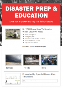 Disaster Prep  Education  ebook