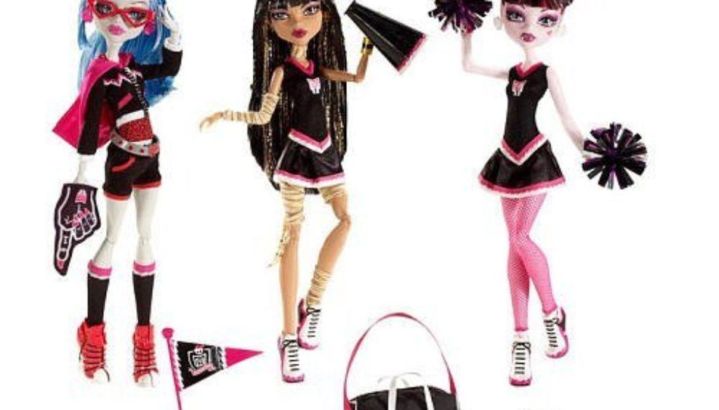 monster high fearleading Dolls