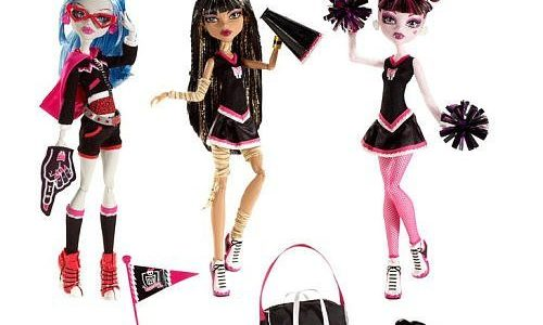 monster high fearleading Dolls