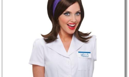 Flo Progressive Ins. Costume Wig