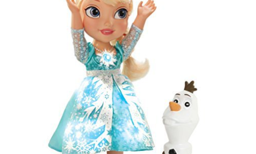 snow glow elsa doll