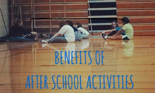 Benefits of after school activities