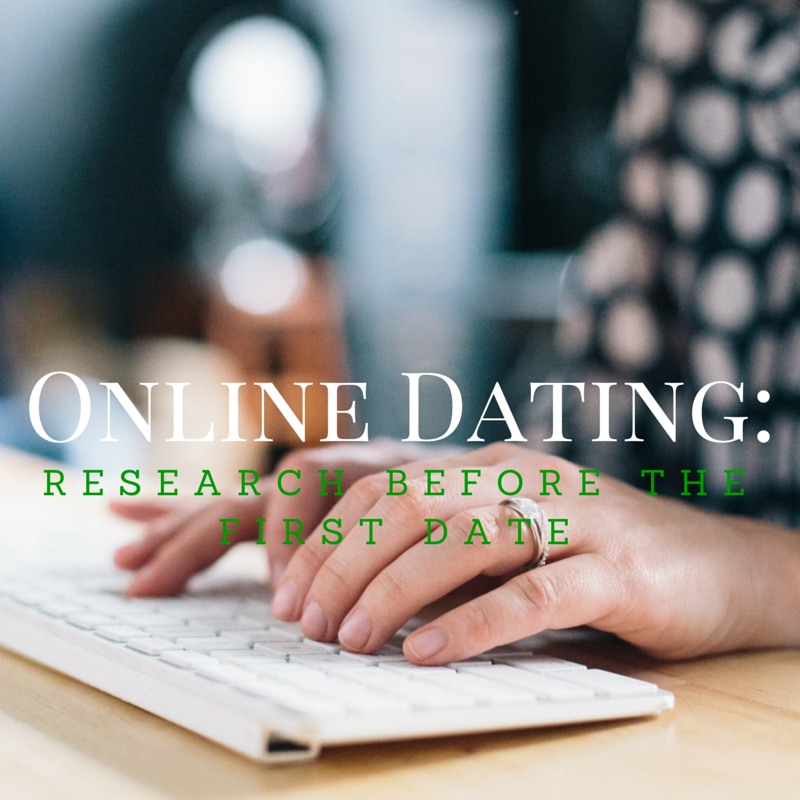 online dating; background checks