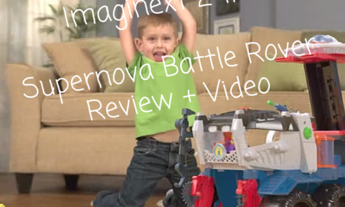Imaginext 2-in-1 Supernova Battle Rover Review + Video