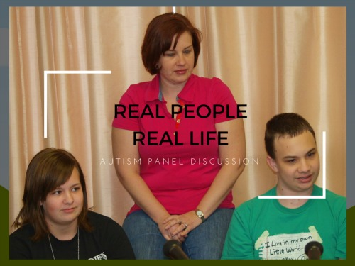 Real People Real LIfe - autism segment