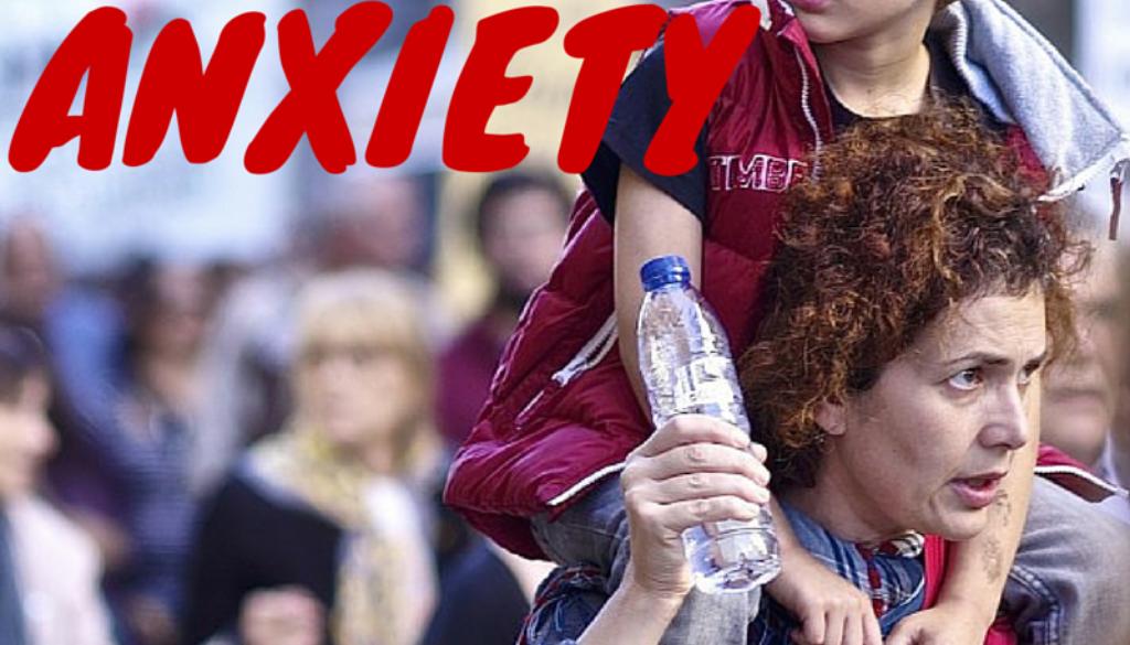 symptoms o f anxiety