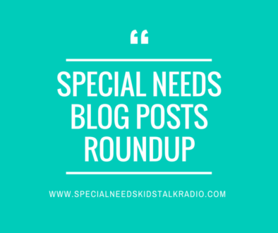 SPECIAL NEEDS BLOG POST ROUNDUP