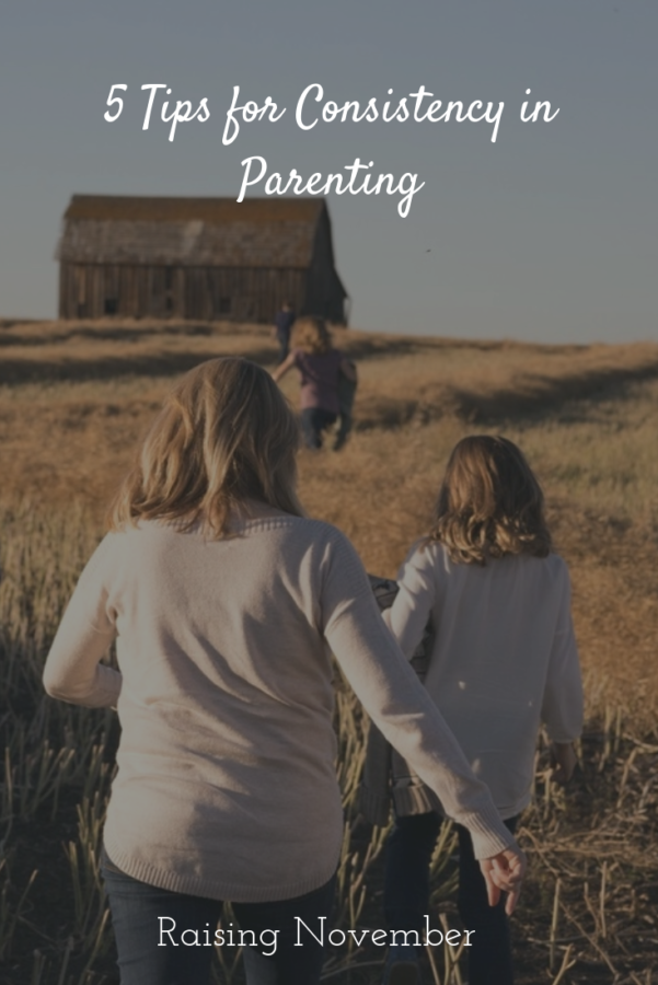 How not to be a consistent parent