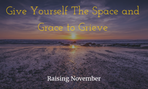 self care and grief